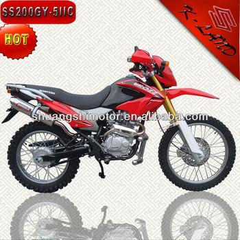 200cc bici de la suciedad motocicletas 200cc baratas China