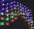 butter 72l multicolor led weihnachtsbeleuchtung vorhang leuchtet