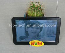 7 inch 800*480 HD touchscreen Navigation gps support isdb-t tv digital bluetooth avin fm transmitter cpu media tek mt3351 ce6