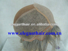 top quality gray hair full lace wig