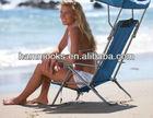 Beach Canopy Folding Backpack Reclining Sling Chair
