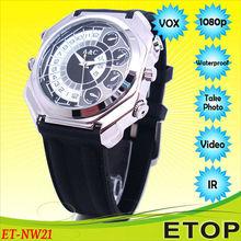 Motion detection HD 1080P digital wrist watch camera 8GB