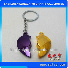 Custom metal keyring/parts keychain with high quality for sale