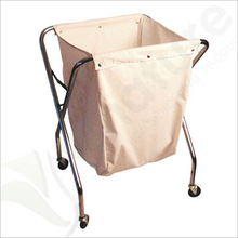 Laundry Clothes Basket Washing Wheels Cart Replacement Net Only