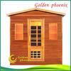 2013 new luxury far infrared sauna room outdoor sauna room