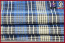 100% Cotton Garment Fabric Cotton Fabric Big Checks