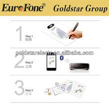 2013Promotional!!digital signature pen,Inote mobile taker pen GXN-403BT