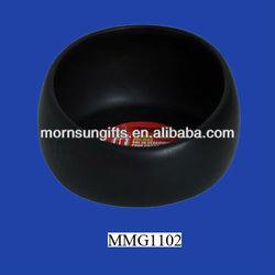 New round black large ceramic dog bowls wholesale