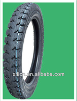 ISO SGS INSPECTED NATURAL RUBBER MOTORCYCLE TIRE AND TUBE