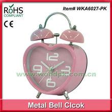 Woodpecker metal ce clock wholesale alarm clock apple shape alarm clock