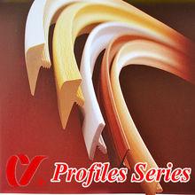 office furniture edge banding ,U type,T type Profiles edge banding
