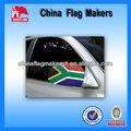 el sur de áfrica de poliéster espejo retrovisor del coche de la bandera de la cubierta