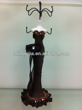 2013 Doll Jewerly Holder Lady Wooden display Fashion Home Decoration