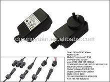 Rainproof IP44, 3V,6V,9V,12V CCTV switching power adapter