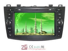 high quality car audio with gps,pip,touch screen,ipod,analog tv for New Mazda 3