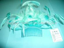 BY-TS017 Sinamay Feaher Headwear