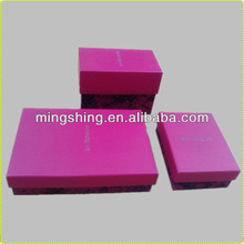 Decorative color storage box