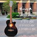 Enya guitarra acústica E15 serie, Lp de la guitarra eléctrica kit
