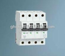IP20 CE Approvaled Mini Series Trip Circuit Breaker