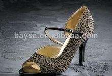 ladies' satin open toe latin dance shoes BL159