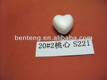 2013 artificial foam heart shape decoration felt