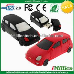 2gb pvc 3d shaped car usb pen drive