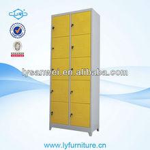 SW-W045 10 doors steel foot locker