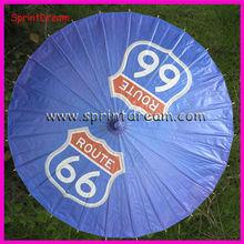 Customize design! Paper advertising umbrella