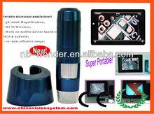 CE 5-200x Optical Magnification Wireless Digital Microscope