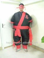 HI EN 71 ninja inflatable mascot costume for adult