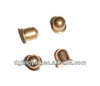OEM high precision cnc machining brass bullet shape parts