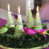 christmas tree shape candles