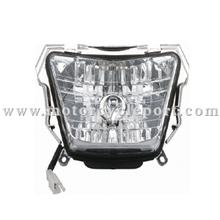 motorcycle head light for HONDA125