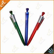 high quality short barrel ballpoint pen
