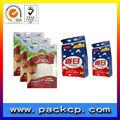 personalizado impresso saquinho de pacotes para a amostra de xampu