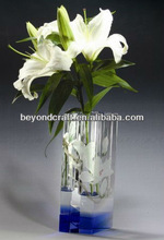 beautiful crystal vase .2013 new fashion crystal gifts decorations