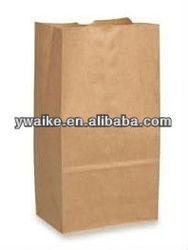 Brown Kraft Paper Grocery Bag