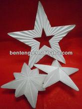 high class handmade decorative plastic stars large