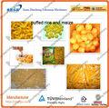 Arroz tufado/milho/trigo máquina do alimento lanches