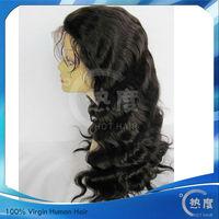 New Arrive Hot Hair Wavy indian human hair wig