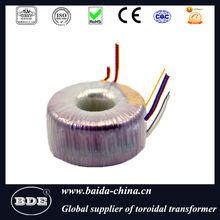 Transformer for vibration speakers