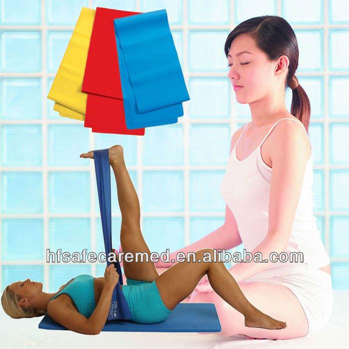 Soft yoga elastic band for sports