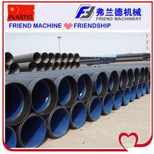 HDPE Large Diameter Corrugated Pipe Machine