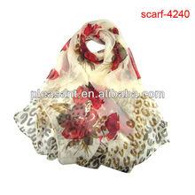 digital printing on silk scarf 2013