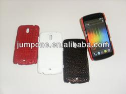 croco PU stick Hard back Case cover For Samsung Galaxy Google Nexus 3 i9250 Prime 4G