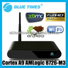 Android 4.0 XBMC Cortex A9 3D 1080p Mini PC WiFi HDMI 1GB 4GB Smart TV Box