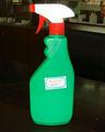 500ml polietileno de alta densidad de plástico vacía botella de spray o complemento para la botella de cosméticos, lavado de& de limpieza jb-145