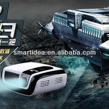 "0.45"" DMD Chipset short throw led dlp 3D portable projector"
