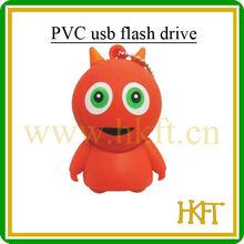 Red 3D PVC usb flash memory,E-POWER usb 2.0