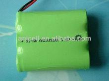 3.6v nimh rechargeable battery packs